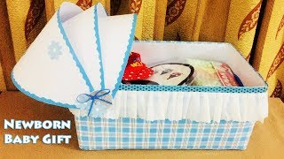 Newborn Baby Gift Ideas | Gifts For Babies | Best Out Of Waste Box Ideas | #20