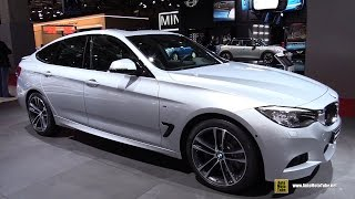 2015 BMW 330d xDrive Gran Turismo M Sport - Exterior, Interior Walkaround - 2014 Paris Auto Show(Welcome to AutoMotoTube!!! On our channel we upload every day short, (2-5min) walkaround videos of Cars and Motorcycles. Our coverage is from Auto and ..., 2014-11-01T15:14:31.000Z)