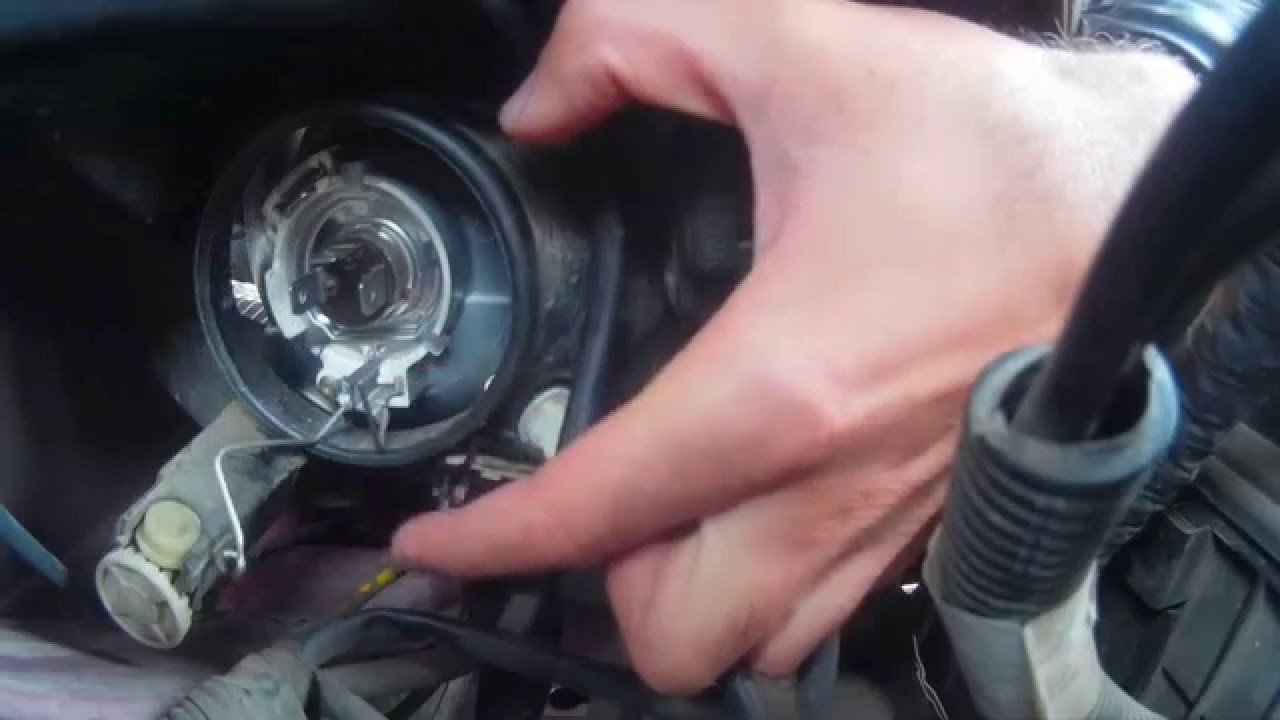 How To Replace Headlight Bulbs Citroen Xsara Picasso