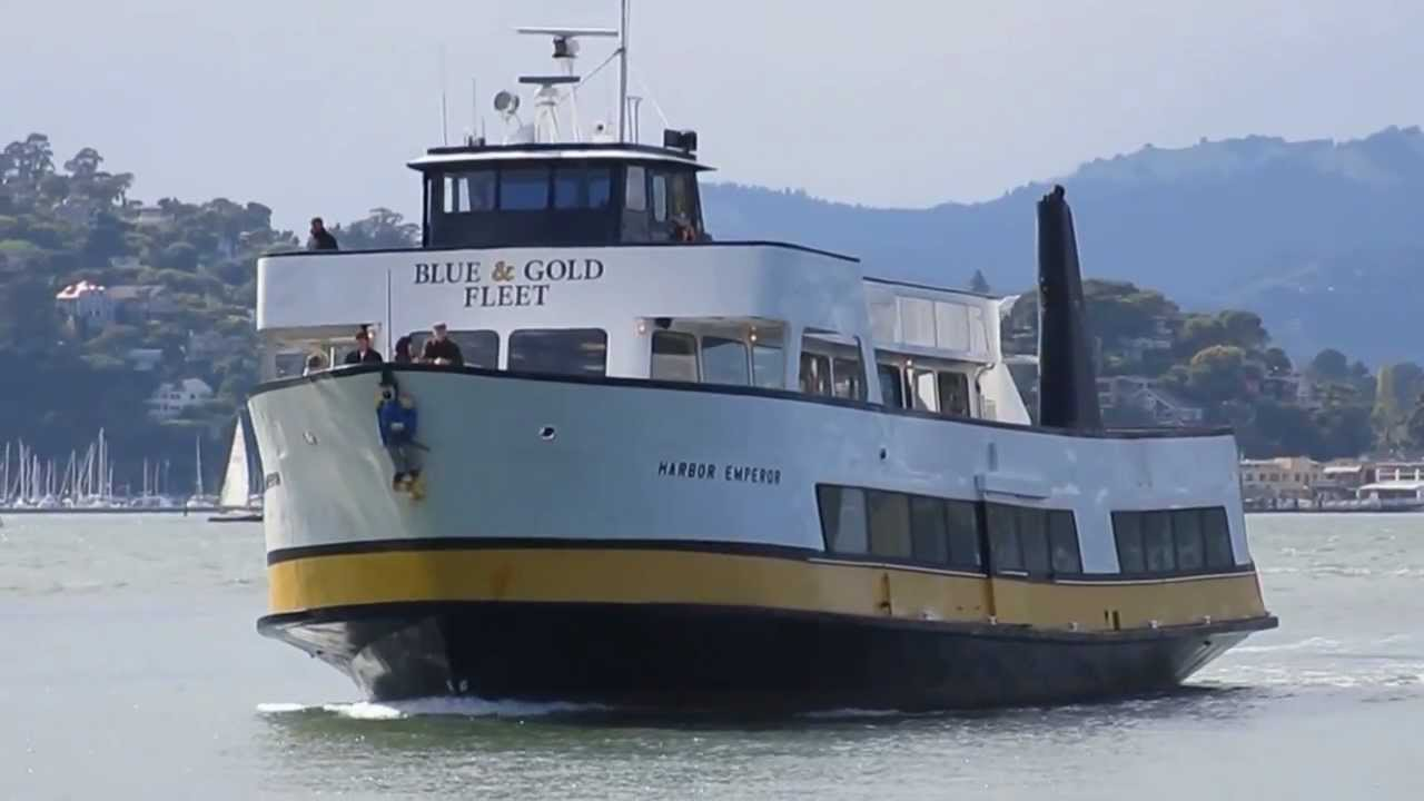 "harbor emperor"" ferry blue & gold fleet angel island state park san"