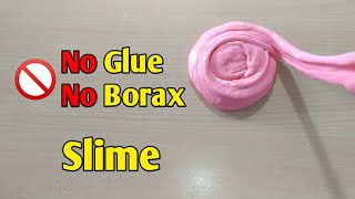 How To Make Slime Without Glue l How To Make Slime With Flour &amp Shaving Foam l Testing No Glue Slime