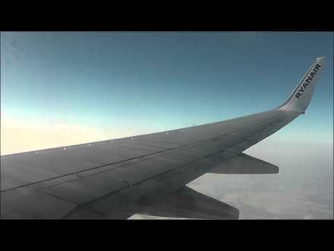 Ryanair FR754 London Stansted (STN) - Frankfurt Hahn (HHN) 737-800 (EI-EBF) *FULL FLIGHT* [1080p HD]