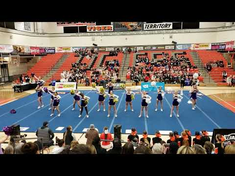 Columbia River High School Cheer State Competition February 2, 2019