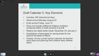 Nyu Calendar 2022.Fcps School Board Work Session 2 2 2021 2021 2022 Standard School Year Calendar Youtube