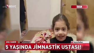 5 yaşında jimnastik ustası