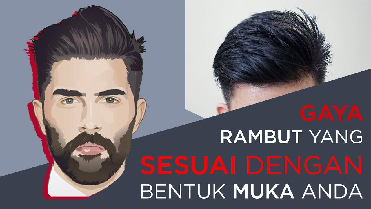 gaya rambut pria yang cocok dengan bentuk wajah kita | fashion