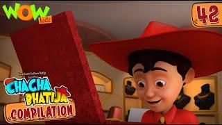 Chacha Bhatija | Compilation 42 | Funny Animated Stories | Wow Kidz