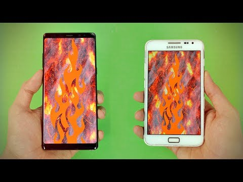 Samsung Galaxy Note 8 vs First Galaxy Note - 6 YEARS Comparison!