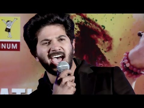 Dulquer Salman Singing Chundari Penne @ Charlie Success Celebration - Ajman