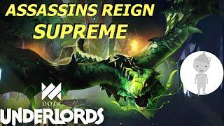 Assassin's Dominate ESL Mobile Open Tournament | Dota Underlords