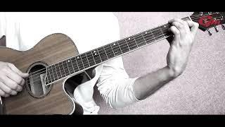 Красивая мелодия на гитаре. Для новичков.