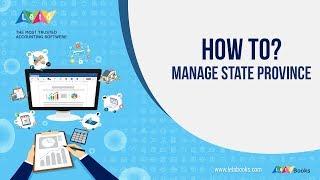 Admin Manage State Province   Leto Books   Tutorial 16