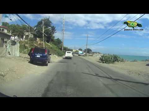 KINGSTON TO REGGAE FALLS ST THOMAS PART 3 JAMAICA VIEWS