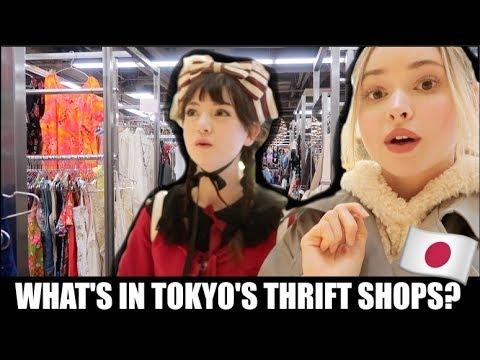 THRIFT SHOPPING IN TOKYO, JAPAN