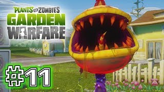 Plants Vs. Zombies - GARDEN WARFARE - PART 11 - FIRE CHOMPER (HD GAMEPLAY)