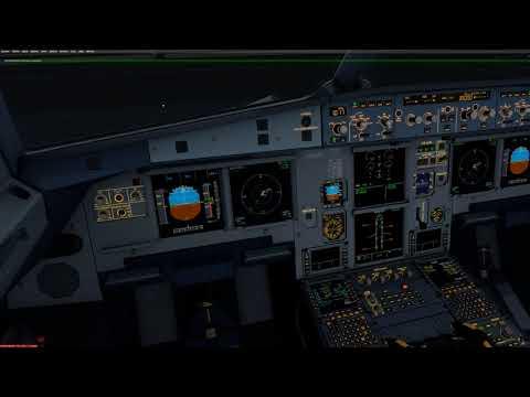 P3DV3 VATSIM A319 EZY5L9 HTDA-FWKI  WWW.JETVA.CO.UK