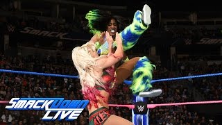 Naomi vs. Alexa Bliss: SmackDown LIVE, Oct. 18, 2016