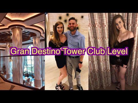 Gran Destino Tower Club Level!!