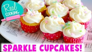 Real Cooking Ultimate Baking Starter Set - I Bake Sprinkle Sparkle Cupcakes!