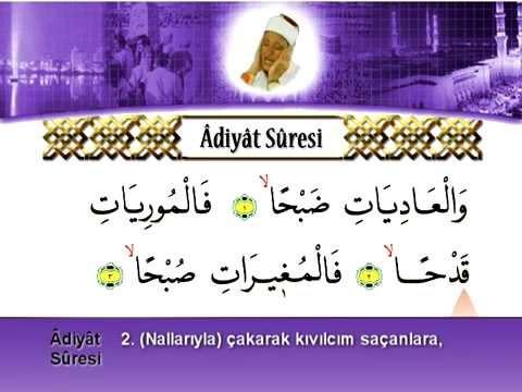 Abdussamed - Adiyat Suresi