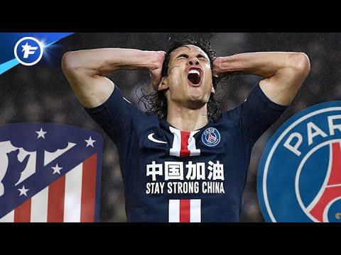Edinson Cavani Raconte Son Mercato Hivernal Agité Avec L'Atlético   Réactions à Chaud