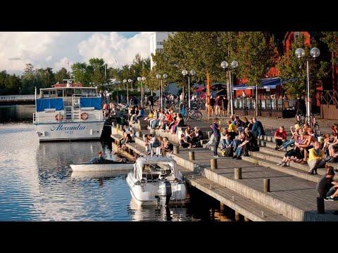Pohjois- Suomen Oulun Kaupunki 2019 : City of Oulu Finland