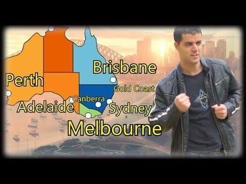 Austrália e suas Melhores Cidades (Viajar, Morar, Estudar, Trabalhar na Australia)