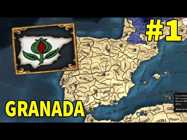 COMIENZA LA RE-RECONQUISTA - Granada #1 Europa Universalis IV 1.31