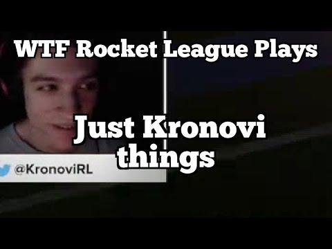 WTF Rocket League Plays: Just Kronovi things thumbnail