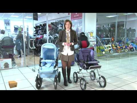 TEST.TV: Польские коляски два в одном от Roan и Tako.