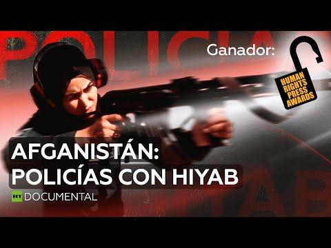 Afganistán Policías con hiyab