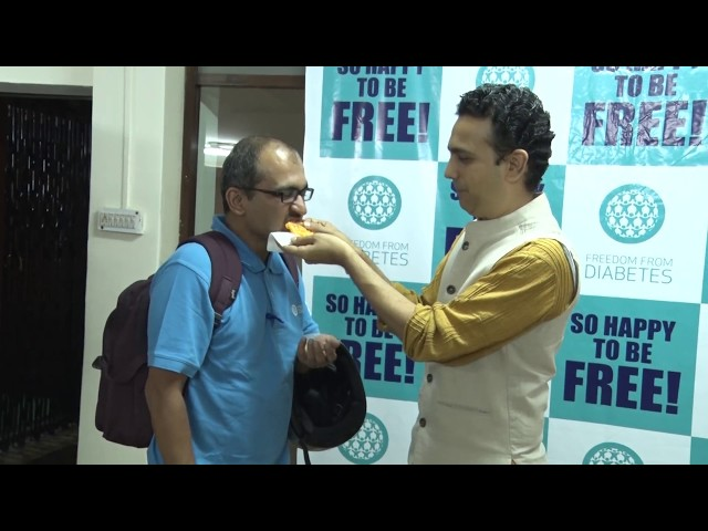 Diabetes Freedom  - Freedom From Diabetes celebrated with Dr...