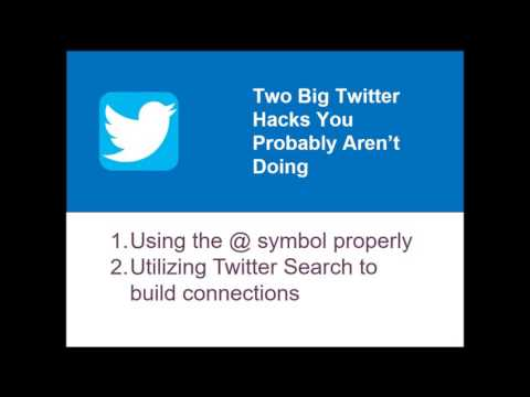 Building a Personal Brand on Twitter [WEBINAR]
