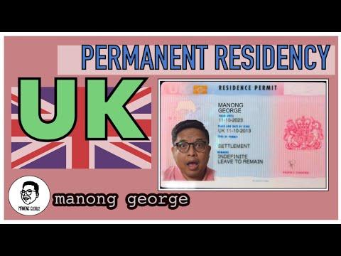 UK Permanent Residency. UK Indefinite Leave To Remain Visa