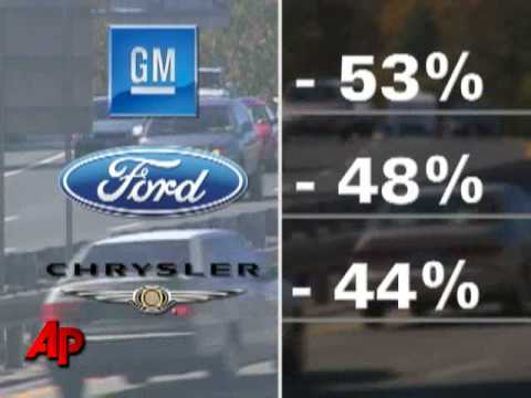 US Auto Sales Drop at Least 40 Pct