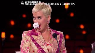 "Gambar cover Katy Perry Sings ""Firework"" While Sick - American Idol on ABC Sneak Peek"