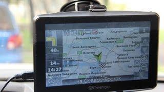 видео Навигатор Prestigio GeoVision Tour 7795