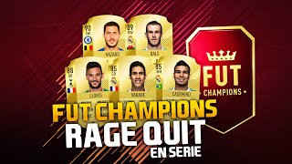 FIFA 18 - FUT CHAMPIONS - RAGE QUIT EN SÉRIE !
