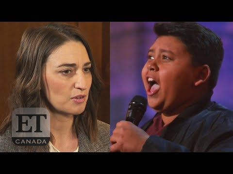 Sara Bareilles Reacts To 'AGT' 'Waitress' Audition