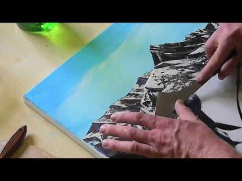 Tutorial Abstrakte Kunst 4 Wir Malen Ein Bild Acryl Spachtel
