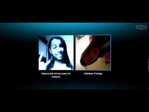 Kathleen Cantando no Skype, Ela tem Estilo- Bonde Da Stronda.