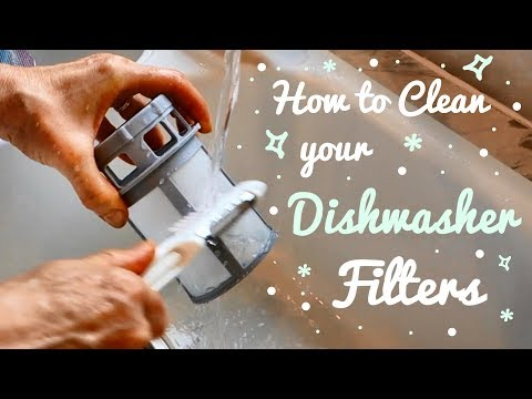 How to Clean your Dishwasher Filter | Dishwasher Cleaning Tutorial