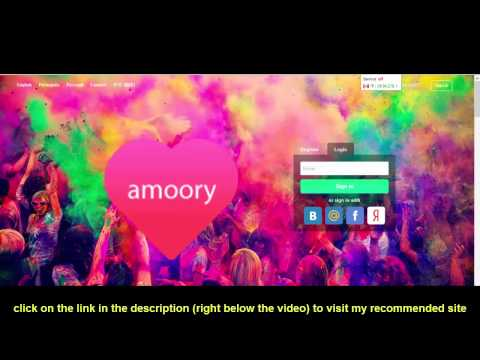 amoory dating site login