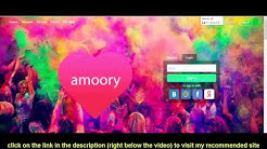 How To Login To Amoory.com - Learn How To Sign In To Amoory.com