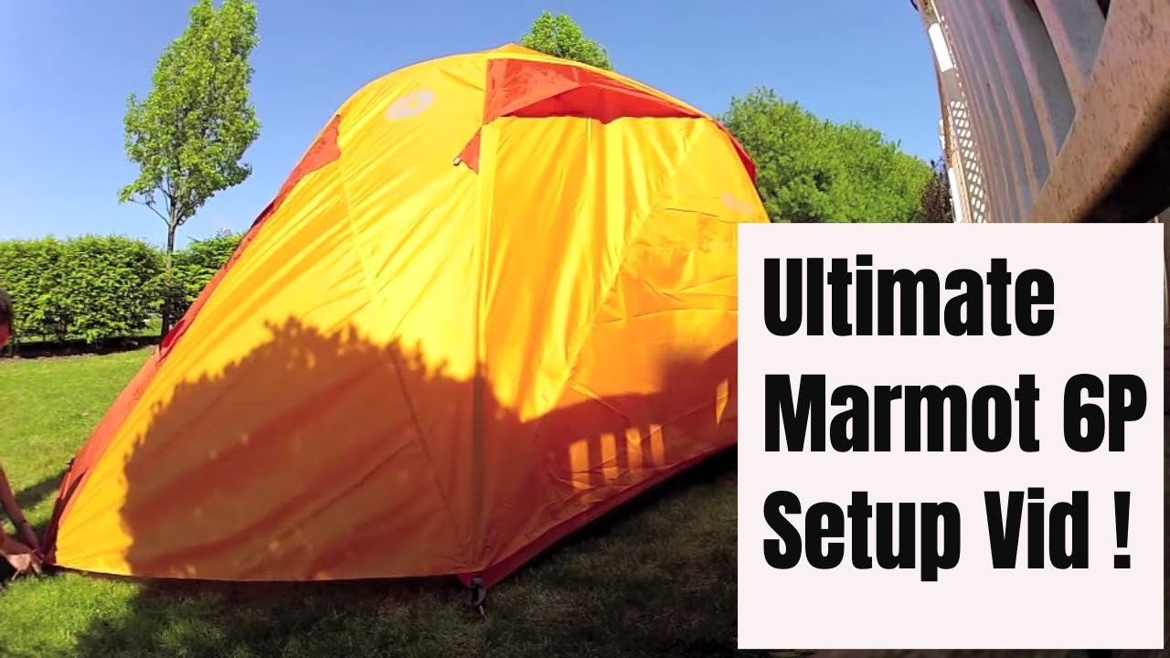 & Marmot Halo 6P - Set Up u0026 Review - YouTube