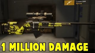 The Division 1 Million Damage Weapon