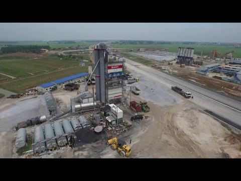 Асфальтобетонный завод из Китая производительностью 420 т/ч. LB4000! Китайские асфальтные заводы!