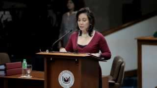 LOREN LEGARDA: Speech: Hunger Amidst Plenty