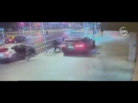 Funcionario PDI repelió a balazos un intento de portonazo en su contra- CHV Noticias