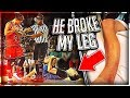 He Broke My Leg At Ace Family Event (Charity Basketball Highlights)